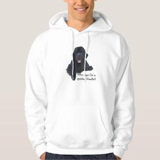 Spoiled Newfoundland Dog Hoodie