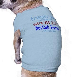spoiled Norfolk Terrier Tee