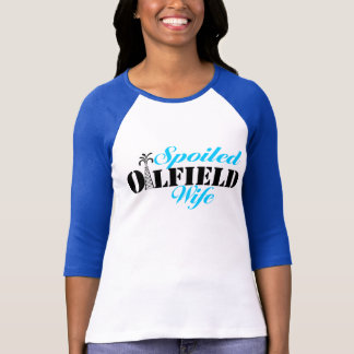 """Spoiled Oilfield Wife with Derrick """"i"""" T-Shirt"""