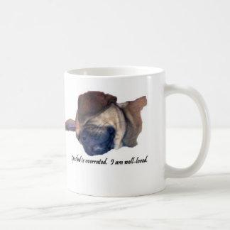 Spoiled Overrated Puggle Mug