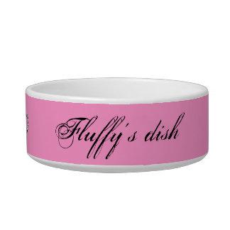 Spoiled Pet Pink Bowl