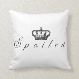Spoiled Pillow blk