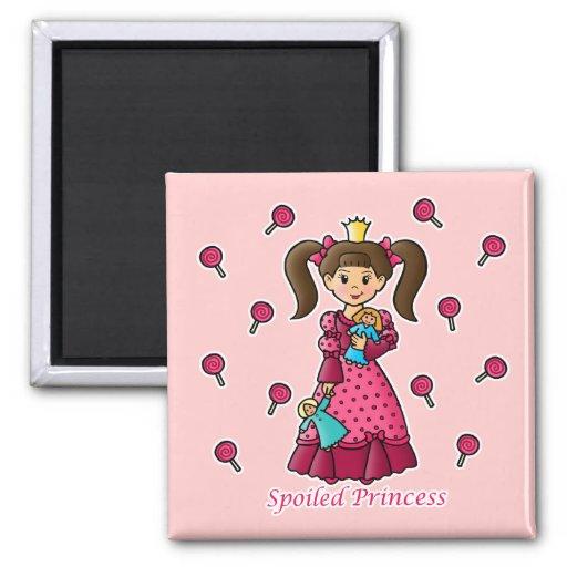 Spoiled Princess Refrigerator Magnet