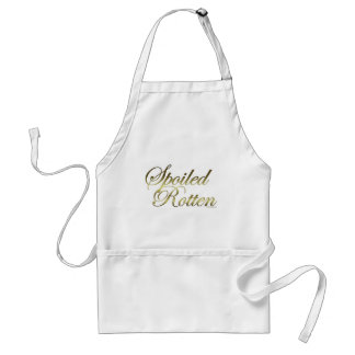 Spoiled Rotten Adult Apron