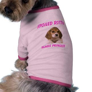 Spoiled Rotten Beagle Dog T-Shirt