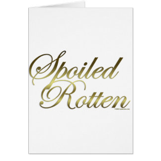 Spoiled Rotten Cards