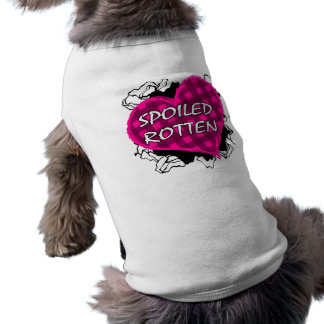 Spoiled Rotten Dog Sweater Tee