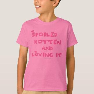Spoiled Rotten Kids Shirt (pink text)