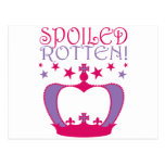 Spoiled Rotten Postcard