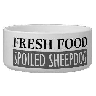 SPOILED SHEEPDOG BOWL