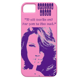 Spoiler Alert-It all works out for you in the end. iPhone 5 Cover
