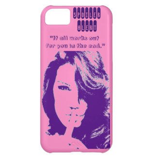 Spoiler Alert-It all works out for you in the end. iPhone 5C Cases