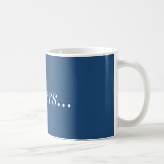 Spoilers Mug (Blue)