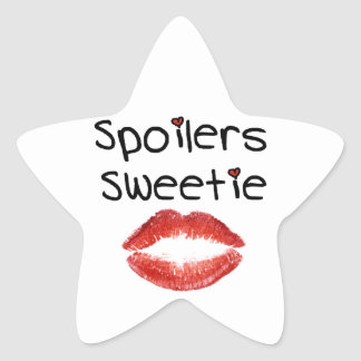 Spoilers Sweetie Star Sticker