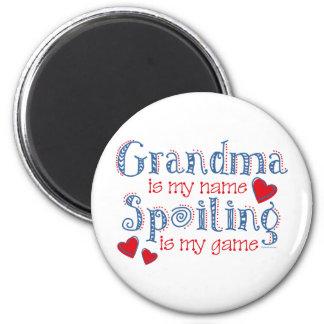 Spoiling Grandma Refrigerator Magnet