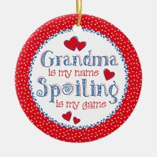 Spoiling Grandma Ornament