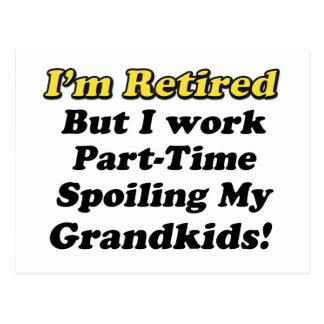 Spoiling My Grandkids Postcard