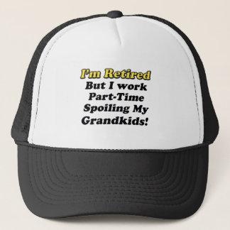 Spoiling My Grandkids Trucker Hat