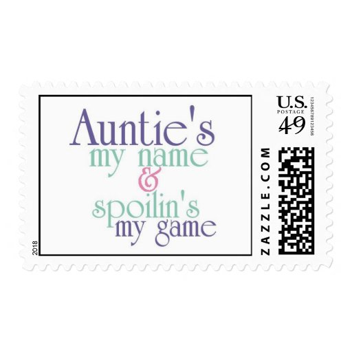 Spoilins My Game-Auntie 3 Stamp
