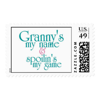 Spoilins My Game-Granny Postage