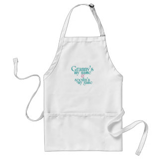 Spoilins My Game-Granny's Adult Apron