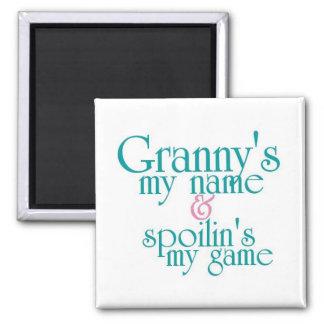 Spoilins My Game-Granny's Fridge Magnets