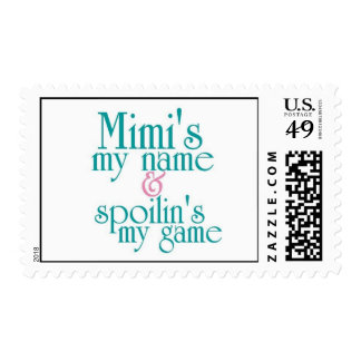 Spoilins My Game-Mimi 1 Postage Stamps