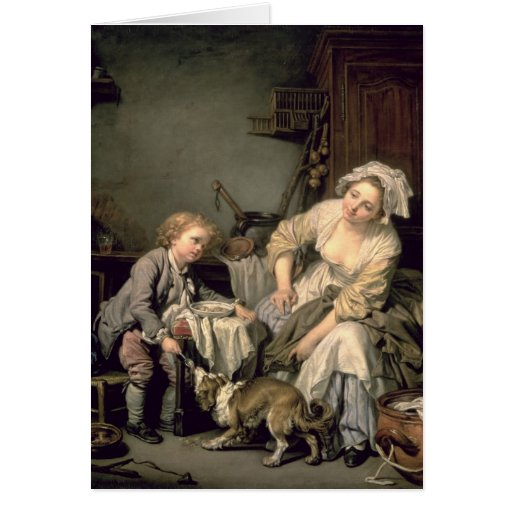 Spoilt Child, 1765 Greeting Cards