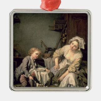 Spoilt Child, 1765 Metal Ornament