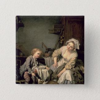 Spoilt Child, 1765 Pinback Button