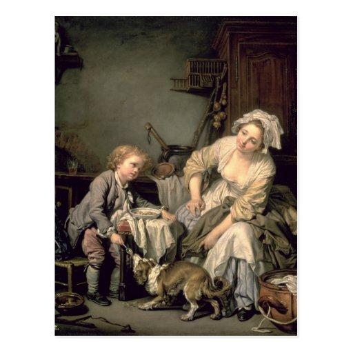 Spoilt Child, 1765 Postcard