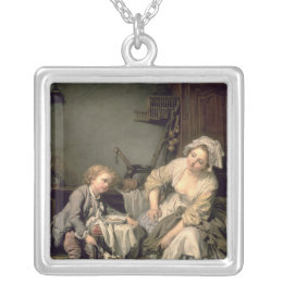 Spoilt Child, 1765 Silver Plated Necklace