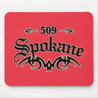 Spokane 509 alfombrilla de ratones