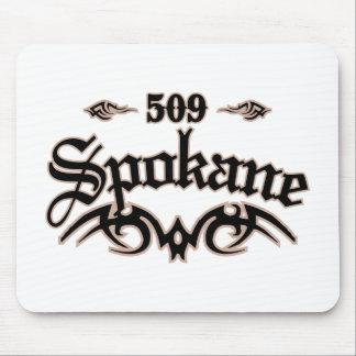 Spokane 509 alfombrillas de raton