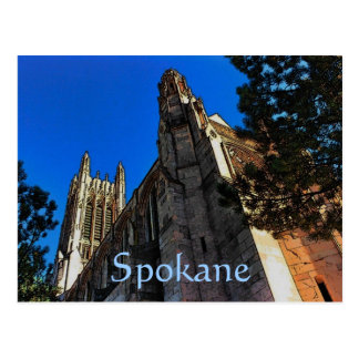 Spokane (Cathedral) Postcard