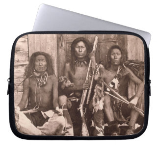 Spokane Indians, 1861 (b/w photo) Laptop Sleeve