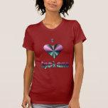 Spokane -- Púrpura y turquesa Camiseta