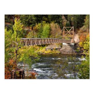 Spokane River Postcard