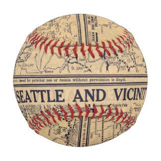 Spokane, Seattle Baseballs