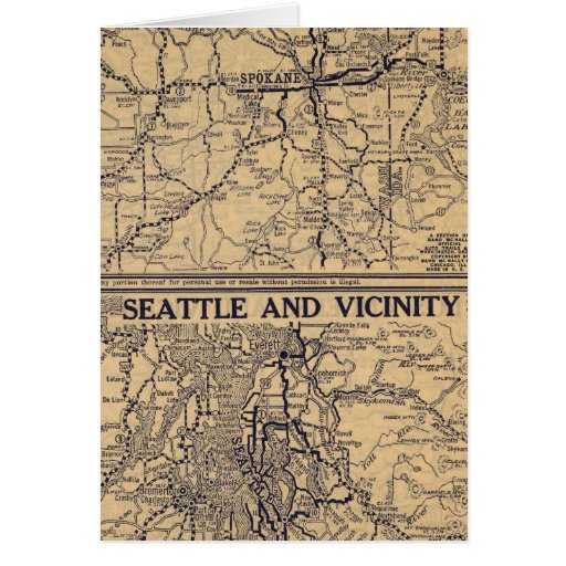 Spokane, Seattle Felicitacion