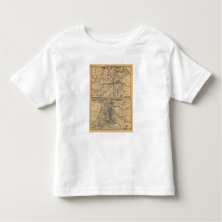 Spokane, Seattle Toddler T-shirt