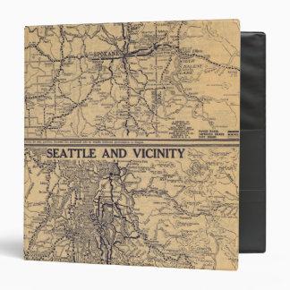 Spokane, Seattle Vinyl Binder