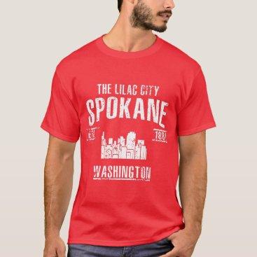 USA Themed Spokane T-Shirt