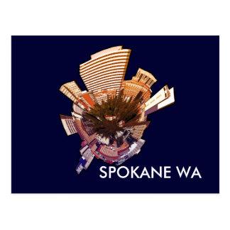 Spokane WA Tarjeta Postal