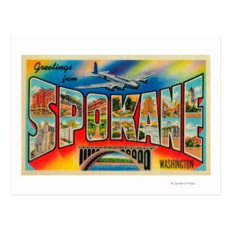 Spokane, Washington - escenas grandes 3 de la Postales