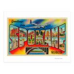 Spokane, Washington - Large Letter Scenes 3 Post Cards