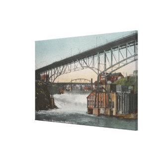 Spokane, Washington - Monroe Street Canvas Print