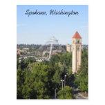 Spokane Washington Postcard