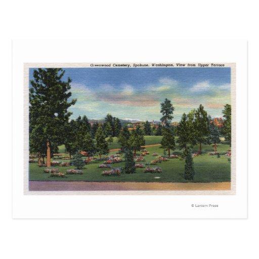 Spokane, Washington - Upper Terrace Post Cards