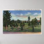 Spokane, Washington - Upper Terrace Print